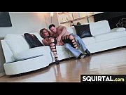 Teen Latina Squirts while getting fucked 25