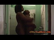 two horny booty african lesbians havng fun under.