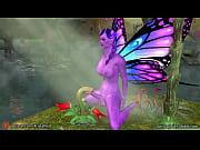 dickgirl-butterfly fuck flower