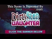 Dirty Blonde Stepdaughter Sucking Her Stepdad'_s Cock