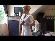 uk mature nurse fingerfucked stockinged babe