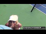 Cumshot Tennis Blowjob Public Cock Sucking Facial Cum Swallow Msnovember