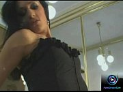Slender babe loves see her expression in the mirror while masturbating