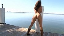 Gracie Glam's hot naked ass