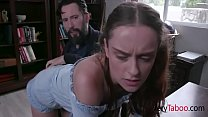Disciplined Stepdaughter Dick Down- Lily Glee