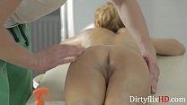 Petite 18yo Loves This Massage