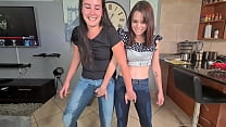 Two Piss Sluts Soaking And Wetting Their Jeans