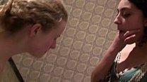 2 Girls Vomit Puke Puking Throat Gagging Vomiting Food