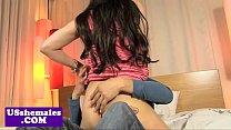 Tgirl Madison Montag cockriding pornhub video
