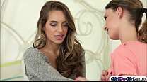 Kristen Scot and her stepsis Kimmy Granger are licking pussy