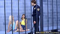 Brazzers - Brazzers Exxtra - Licking Locked Up scene starring Elsa Jean Riley Reid and Jean Val Jean thumbnail