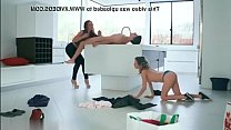 Stepmother catches horny teens fucking when she comes home 2 صورة