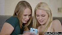 BLACKED Alli Rae and Dakota James cum on a BBC preview image