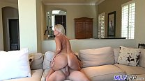 MILF Trip - Blonde MILF gets fucked by fat cock and facialized thumbnail