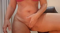 Dança Sensual De Vestido Arrastao Com Nudez E P