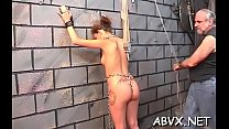 Hottie gets man to roughly stimulate her pussy in thraldom xxx Thumbnail
