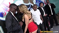 Kagney Linn Karter Gets Gangbanged By BBC's