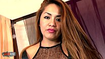 Hot Candy Mendez dancing and stripping in the bedroom