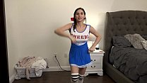 Slutty Teen Cheerleader Fucks Step Brother (Part 1)