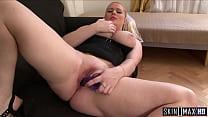 Blonde Pornstar Fucks Thick BBC   Tit Cumshot