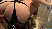 Stepmom needs help with her lingerie صورة