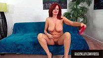 Beautiful Older Redhead Andi James Gorges Herself on Man Meat ◦ adele taylor pussy thumbnail