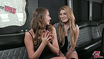 GIRLS GONE WILD - Young Kelly Works The Vibror On Wendy - 9Club.Top