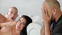 Wife fucked while husband waits outside