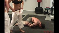 Brutal And Sadistic Double Gi Beatdown with Cin... Thumbnail