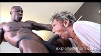 Old Granny can barely take a BBC in this Extreme Interracial Mature Video thumbnail