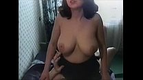 Busty russian milf didoing and fuck