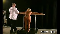 Dilettante gets pussy ravished during breast thraldom xxx thumbnail
