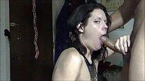 amateur milf sucks bbc & cum swallows preview image