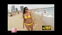 Hot Indian MILF On Barcelona Beach pornhub video