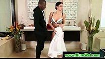 Hot asian masseuse blowjob cock during massage 25