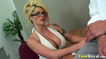 Free download video bokep Pretty Brooke Haven just adores sloppy facials