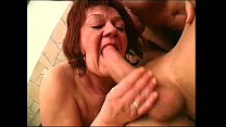Two granny get pounded hard image