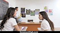 Horny School Girl Plowed in Plaid Skirt (movie bokep) thumbnail