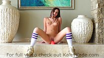 Kaley Kade Rides a Suctioned Dildo Vorschaubild