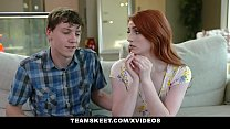 BraceFaced - Tiny Ginger Gets Fucked Hard By Big Dick