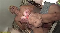 brutal sex with a 89 years old grandma