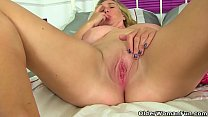 British milf Gabby Fox loves toying her eager cunt video