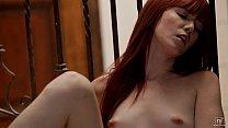 Redhead Elle Alexandra Fingers Herself on the S...