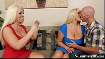 Alura Jenson & Karen Fisher Sexy Threesome - Fapp.me/2chicks