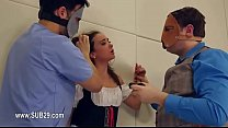 1-Extreme violently penetrated bdsm babe with ropes -2015-09-30-22-16-037 صورة