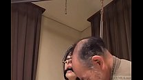 Subtitled bizarre CMNF Japanese nose hook BDSM spanking9-20170505