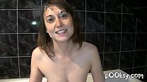 Hairy Bush Naughty Flexible French girl Fucked Hardly صورة