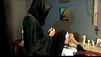 Ariella Ferrera in the holy nun conversion pornhub video