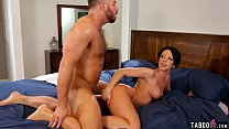 Married guy cheats with curvy MILF after massag... Thumbnail