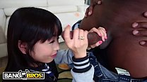 Bangbros - Petite Asian Marica Hase Gets A Big Black Dick On Monsters Of Cock